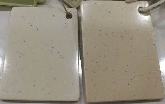 melamine powder with dots