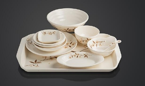 raw material for melamine tableware