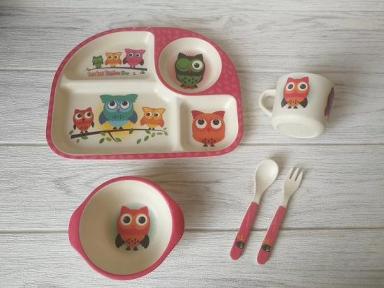 Melamine Bamboo Powder for Children's Dinnerware